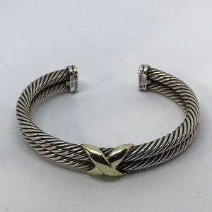 b83de88aeca73 Women s David Yurman Double Cable Bracelet on Poshmark